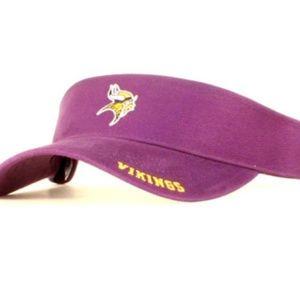 Minnesota Vikings NFL Reebok Visor Hat Cap NWT